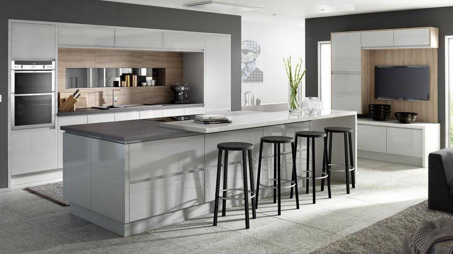 Kitchen Island Ideas Stools