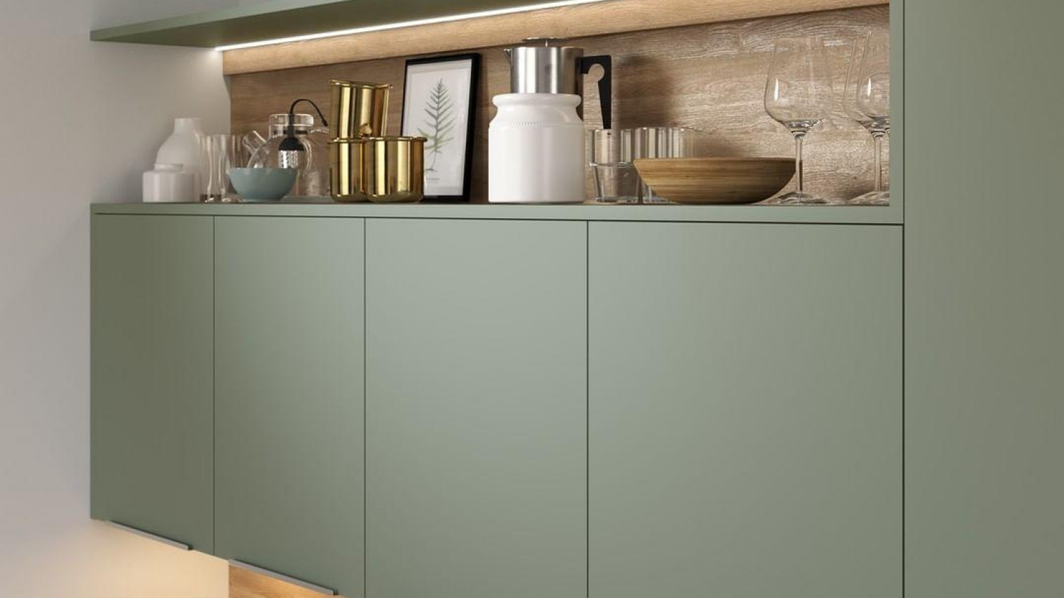 Kitchen Storage Ideas Above Cupboards