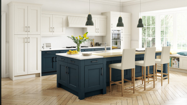 Manor House Painted Ivory Oxford Blue