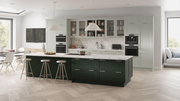 Sheraton Signature Painted British Racing Green And Limestone