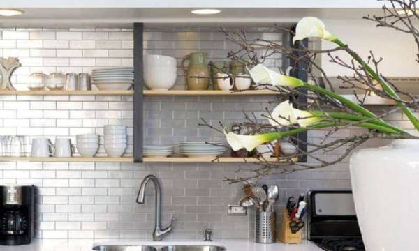 Shelf On Backsplash Pic Credit Arthur Gracie Clemente
