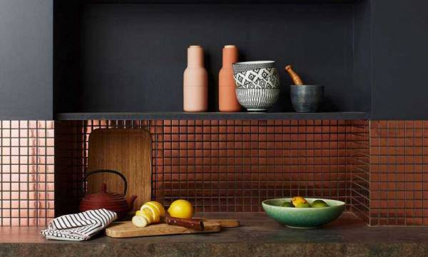 Shelf On Splashback By Cote Maison