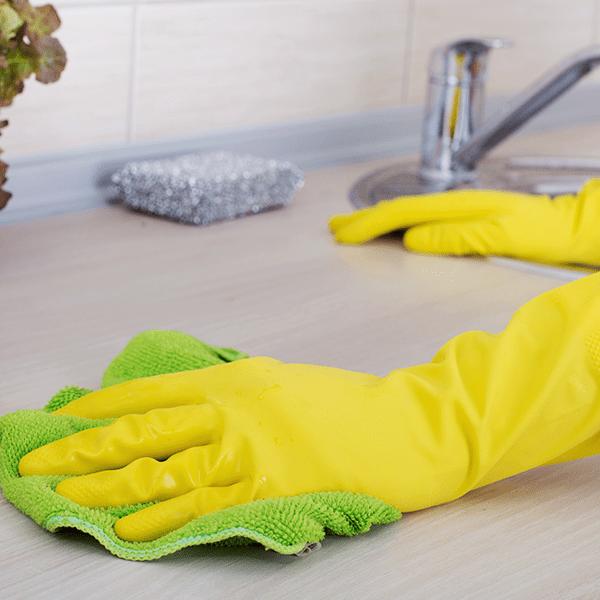 How To Clean Kitchen Worktops