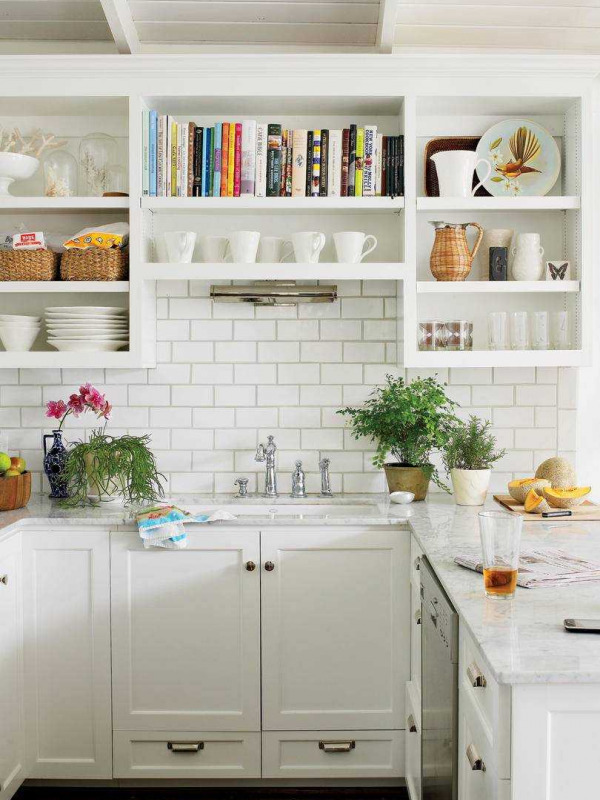 Open Cabinets From Southernliving  Com