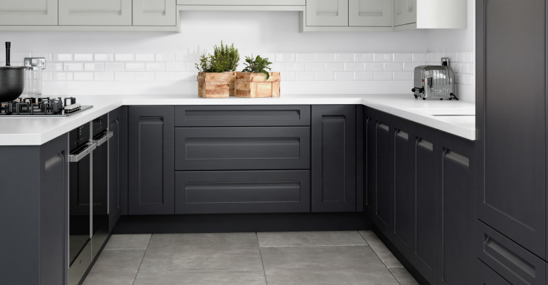 Rta Recessed Shaker Limestone Anthracite