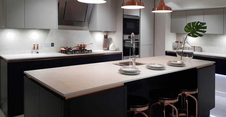Black And Copper Kitchen Ideas