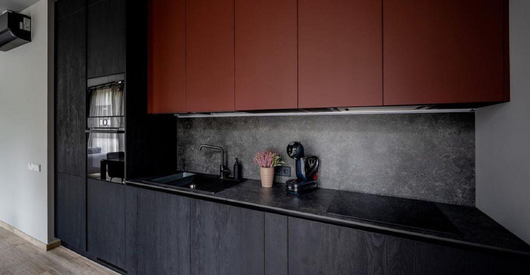 Black And Red Kitchen Ideas